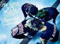 LIVE DVD& Blu-ray ONE OK ROCK 2015 35xxxv JAPAN TOUR LIVE&DOCUMENTARY cover