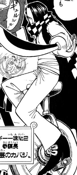 Cabaji en el manga