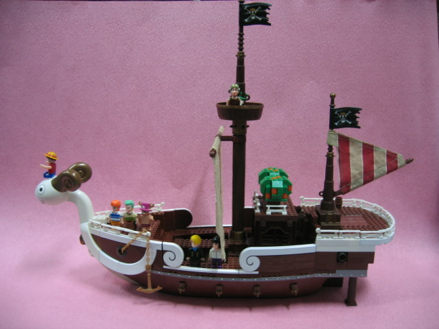 File:One Piece Mega Bloks Going Merry Side.png