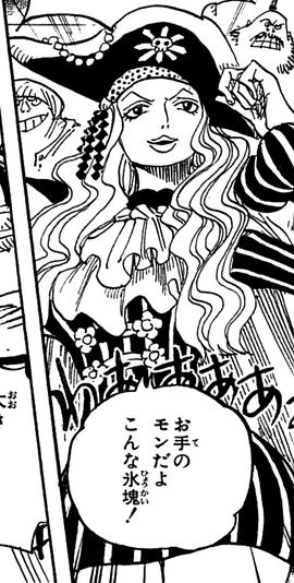 Whitey Bay en el manga