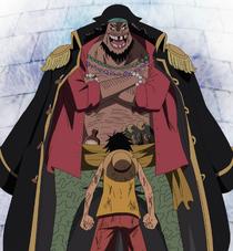 Blackbeard and Luffy