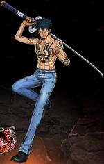 One Piece Burning Blood Heart Trafalgar Law (Artwork)