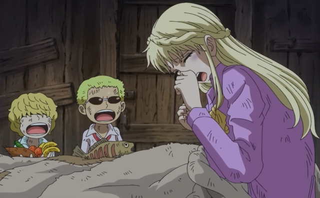 File:Rosinante and Doflamingo Worry About Their Mother.png