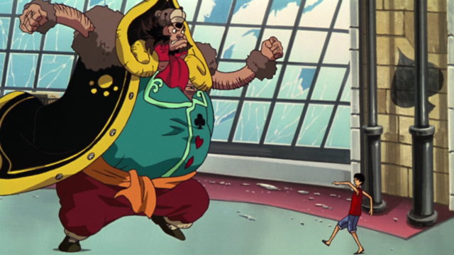 File:Bear King Vs Luffy.png