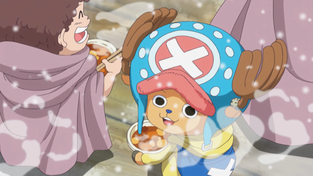 File:Chopper Celebrating at Punk Hazard Party.png