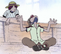 Buggy Swallows Bara Bara no Mi
