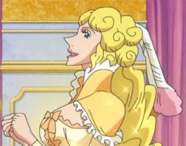 Sarie Nantokanette en el anime