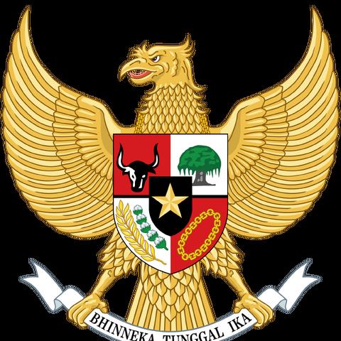 Lo stemma indonesiano