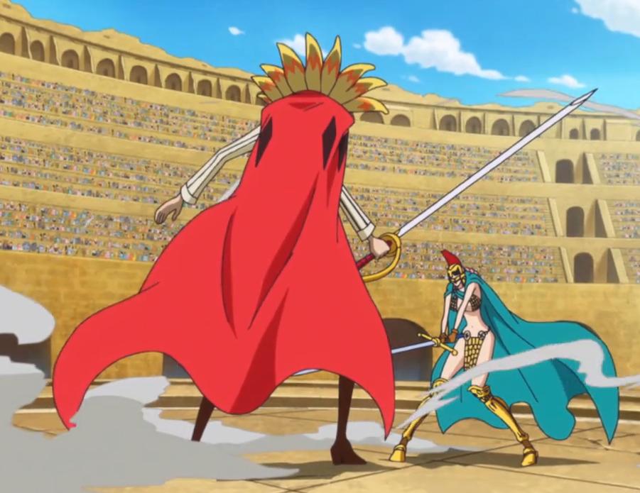 Image - Diamante vs. Rebecca.png | One Piece Wiki | FANDOM ...