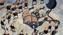 Juryman Lies Defeated by Sanji