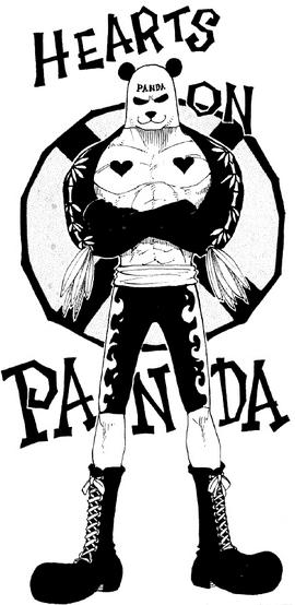 Pandaman en el manga