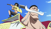 Ace Attempts to Kill Whitebeard