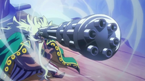 Long Long Gatling Gun