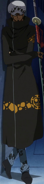 Trafalgar Law on Punk Hazard