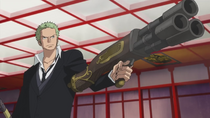 Zoro Fights to Save Nami