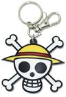 Straw Hat Jolly Roger Keychain