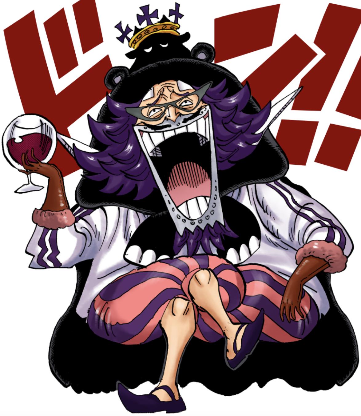 Image - Wapol Digitally Colored Manga Post Timeskip.png ...