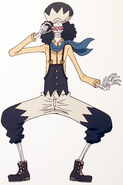 Brook Z's Ambition Arc Outfit