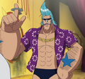 Franky Sabaody Outfit