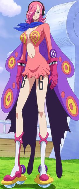 Vinsmoke Reiju en el anime