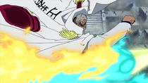Garp Punches Marco