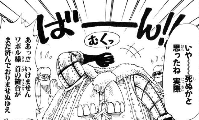 File:Wapol's Beheading in the Manga.png