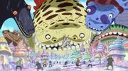 Shirahoshi Summons Sea Kings as a Child.png