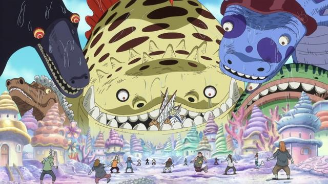File:Shirahoshi Summons Sea Kings as a Child.png