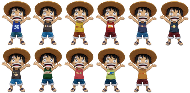 File:One Piece World Collectable Figure Character & Pictograph Top Tank Luffy.png
