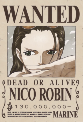File:Nico Robin's Current Wanted Poster.png