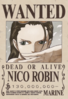 Nico Robin's Current Wanted Poster