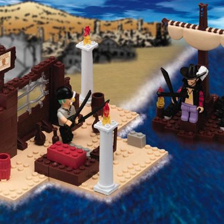 File:One Piece Mega Bloks Zoro & Mihawk.png