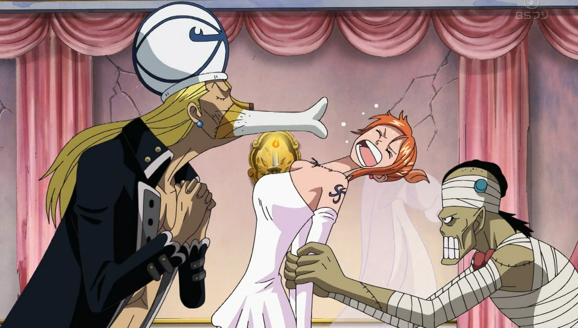 Image - Absalom Trying to Marry Nami.png   One Piece Wiki   FANDOM powered by Wikia