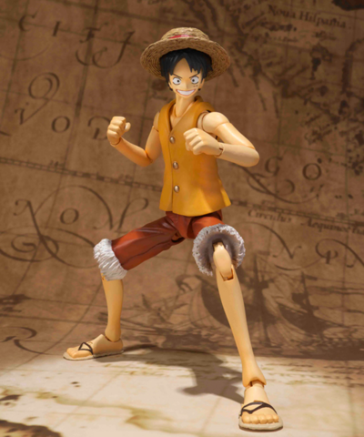 File:S.H. Figuarts Yellow Vest Luffy.png