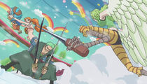 Zoro vs. Monet