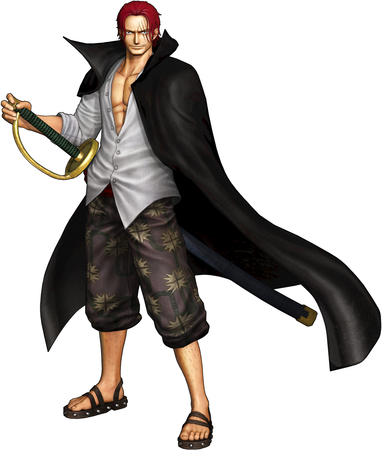 Marshall D Teach Pirate Warriors: Image - Shanks Pirate Warriors 3.png