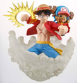 Stacking Vignette Luffy and Chopper