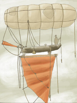 Chinese Junk Dirigible by SuburbanNinj4