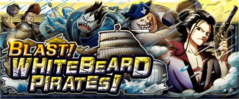 Blast! Whitebeard Pirates Banner