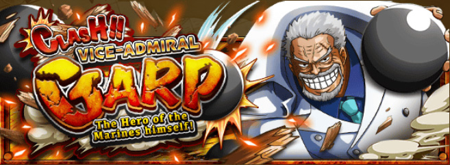 Clash!! Vice-Admiral Garp Banner