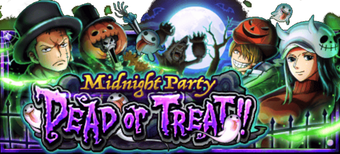 DEAD or TREAT!! ~Midnight Party~ Banner