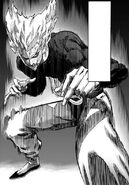 Garou fighting stance