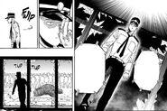 Saitama as police officer