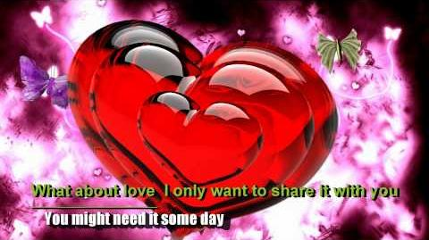 What About Love - Heart with Lyrics
