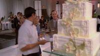 Brulian wedding cake