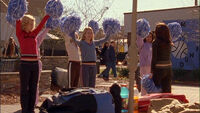 117 b trains cheerleaders