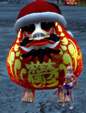 Christmas Daruma