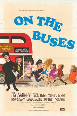On The Buses (movie) poster