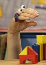 Oobi Uma Noggin Nick Jr Hand Puppet Character