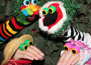 Oobi Eyes Hand Puppets - Peepers